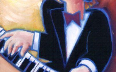 Jazz Harpsichord CD recording